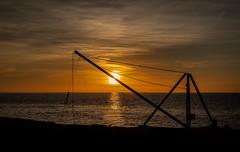 Sunrise (paullangton) Tags: sunrise purbeck portland portlandbill glow red sun sky clouds water dorset coast coastal landscape seascape jurassic