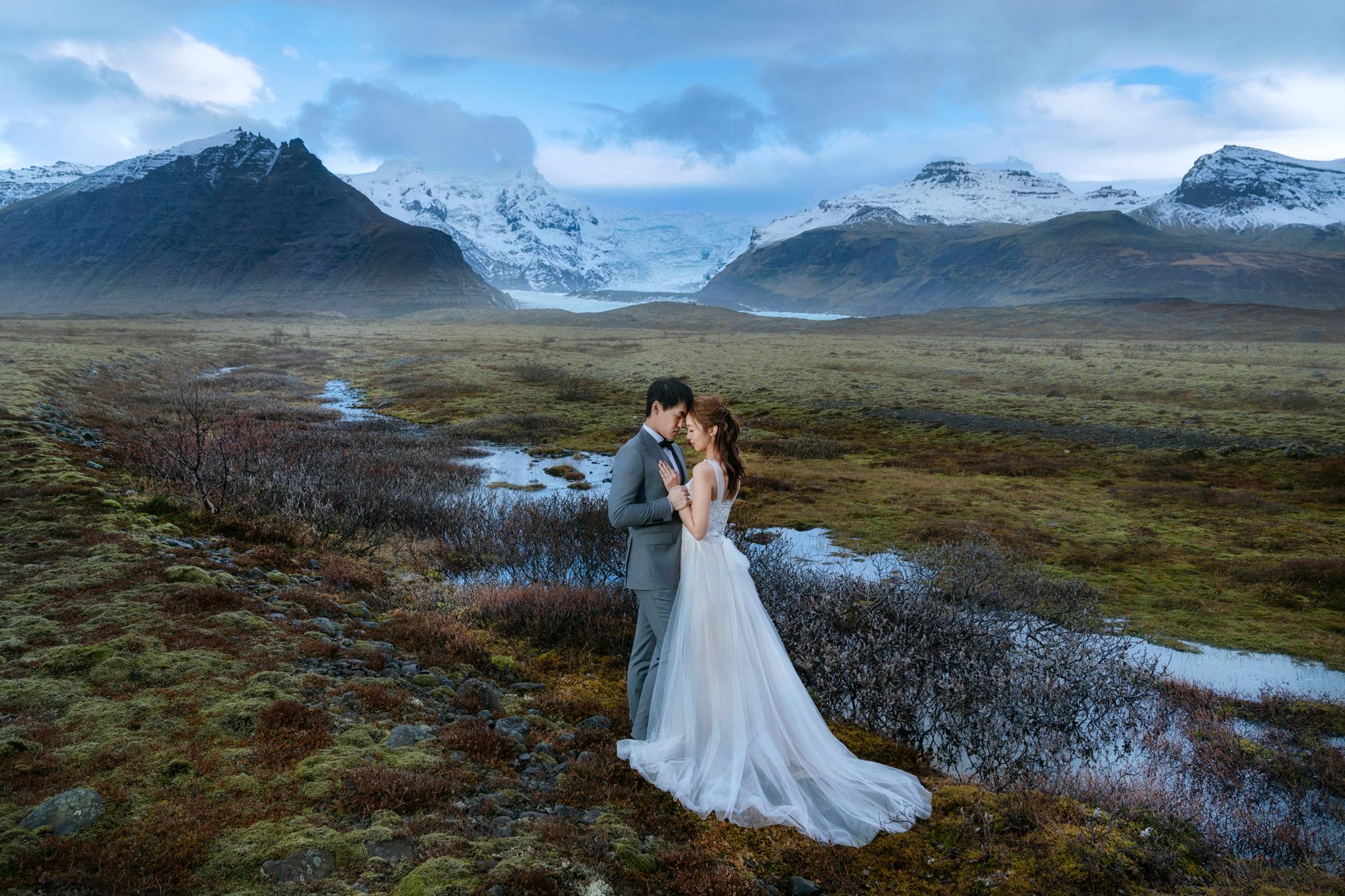 Donfer, EASTERN WEDDING, 冰島婚紗, Iceland, 雷克雅維克, 冰河湖, 冰島馬, 黑沙灘