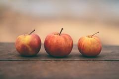 #Threesame (Inka56) Tags: threesame apple woodtable dof bokeh three smileonsaturday threeofkind stilllife