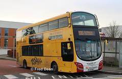 Bus Eireann VWD42 (151C7159). (Fred Dean Jnr) Tags: todayfm buseireann vwd42 151c7159 marymounthospice bishopstown cork march2019 volvo buseireannroute208 b5tl wright wrightbus eclipse gemini3 alloverad