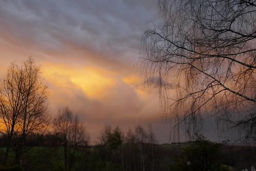 Les tourments du ciel, Bosdarros, Béarn, Pyrénées Atlantiques, Nouvelle-Aquitaine, France.