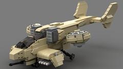 GDI Orca Fighter (HeatproofNut) Tags: gdi lego cc command conquer