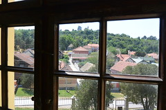 view through the window (Hayashina) Tags: serbia sremskikarlovci window view houses hww