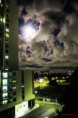 Moonlit Sydney (souravmondal786) Tags: sydneybridge sydney nightphotography moonlit shadows clouds sky night darkness lightandshadow light lowlight