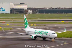 "Transavia PH-HSB B737-800 (IMG_2400) (Cameron Burns) Tags: transavia hv phhsb boeing boeing737 boeing737800 boeing738 b737 b737800 b738 txl berlin tegel germany german deutschland green white netherlands dutch holland amsterdam schiphol airport amsterdamschipholairport ""amsterdam schiphol"" ams eham airfield aviation aerospace airliner aeroplane aircraft airplane plane canoneos80d canoneos eos80d canon80d canon eos 80d haarlemmermeer ""luchthaven luchthaven europe action"