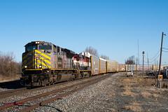 CSX Q261 - Ridgeway, Ohio (dti407) Tags: 2019 sony a77ii csx ridgeway ohio kcs bcol q261