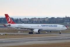 """Diyarbakır"" Turkish Airlines TC-JOE Airbus A330-303 cn/1571 @ LTBA / IST 25-11-2018 (Nabil Molinari Photography) Tags: diyarbakır turkish airlines tcjoe airbus a330303 cn1571 ltba ist 25112018"