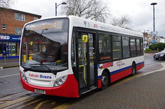 IMGP8700 (Steve Guess) Tags: stationroad tescos addlestone surrey england gb uk falcon telling buses alexander dennis enviro 200 kx12ato