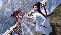 [Ay] HaoriMiko (kyoka jun) Tags: ay adeyakko haorimiko okinawa lastday 55off kimono mikodress miko samurai costume secondlife sl secondlifefashion セカンドライフ セカンドライフファッション 着物 巫女
