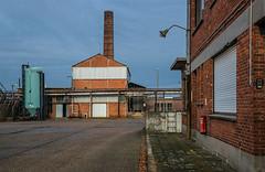 Blue gate II (jefvandenhoute) Tags: belgium belgië belgique antwerp antwerpen blue gate industrialarcheology industrial nikond800 light