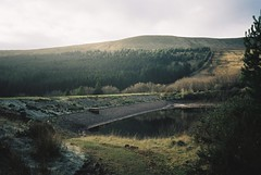 Lower Neuadd Reservoir (knautia) Tags: lowerneuaddreservoir rivertaf breconbeacons wales uk january 2019 film ishootfilm olympus xa2 kodacolor 200iso olympusxa2 reservoir taffechan