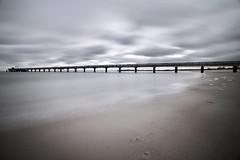 Seebrücke (kuestenkind) Tags: seebrücke langzeitbelichtung longexposure winter ostsee balticsea