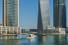 Dubai Marina (Смирнов Павел) Tags: dubai marina yachts skyscraper city uae emirates building landscape embankment boat beach дубай марина яхты небоскреб город оаэ эмираты здание пейзаж набережная катер пляж architecture water sky skyline tree