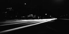 rush-hour (andi_heuser) Tags: urban rushhour verkehr traffic berufsverkehr commutertraffic strasse street völklingerstrasse düsseldorf film analog analogue schwarzweiss blackwhite schwarzweissfilm ilford ilforddelta3200 6x12 mittelformat mediumformat 120 nachtaufnahme nightshot langzeitaufnahme longtimeexposure lochkamera pinholecamera holga holga120wpc andiheuser