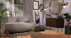 a gentlemen like it when a lady smells sweet (RyanTailor (Taking Clients)) Tags: fancydecor revival bath dustbunny applefall lb littlebranch onsu limit8 fameshed fameshedx event monthly decor deco decoration furniture indoor house ground tree loftaria modern timeless contemporary