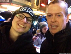 20170105_i03 Me & Dylan Baker by the stagedoor of Broadhurst Theatre after ''Front page'' | New York City (ratexla) Tags: ratexlasnewyorktrip2016 thefrontpage dylanbaker 5jan2017 2017 iphone iphone5 newyorkcity nyc newyork usa theus unitedstates theunitedstates america northamerica nordamerika earth tellus photophotospicturepicturesimageimagesfotofotonbildbilder wanderlust winter travel travelling traveling journey vacation holiday semester resaresor urban city town storstad storstäder storstadssemester ontheroad manhattan actor actors star stars celeb celebs celebrity celebrities famous homosapiens people person human humans life organism man men woman women me leme ratexla selfie girl girls chick chicks guy guys dude dudes