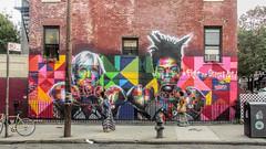Warhol/Basquiat Mural in Williamsburg, NYC (dckellyphoto) Tags: newyorkcity newyork 2015 usa nyc williamsburg warhol mural basquiat eduardokobra brookyln women street