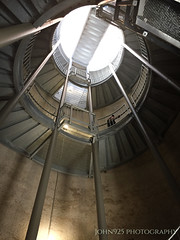 The Man Upstairs (Saved by Grace (100% God, 0% Me)) Tags: stairs man park silo johnninetwentyfive architectural spiral structure