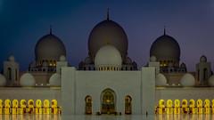 Sheikh Zayed Grand Mosque Abu Dhabi (bransch.photography) Tags: archway minaret middleeast arch arabian islam architecturalelement white unitedarabemirates marble uae evening emirates dome dusk culture famous illuminated abudhabi sunset sultan sheikhzayedmosque muslim gulf religion architecture night arabic majestic exterior traditional