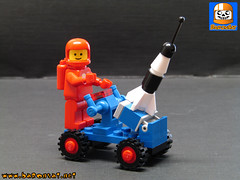 Lego Neo Classic Space 6802 (baronsat) Tags: lego custom model moc classic space neo vintage modern movie spacemen lunar moon base ship rover buggy station moonbase conquest year apollo 50th 40th anniversary man giant step module spacesuit