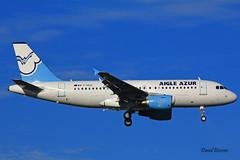 Airbus A319 ~ F-HCZI  Aigle Azur (Aero.passion DBC-1) Tags: spotting cdg 2013 airport airlines airliner roissy aeropassion avion aircraft aviation plane dbc1 david biscove airbus a319 ~ fhczi aigle azur
