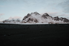 Stokksness, Iceland (Chris Kreymborg) Tags: travel wanderlust roadtrip adventure exploring iceland landscape nature stokksness blacksand beach mountain snow sony sonyalpha sonya7ii alpha7ii minolta rokkor