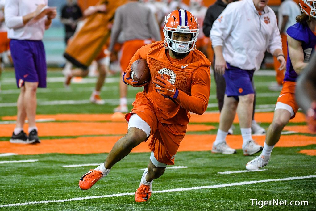 Clemson Photos: Artavis  Scott, 2019, Football