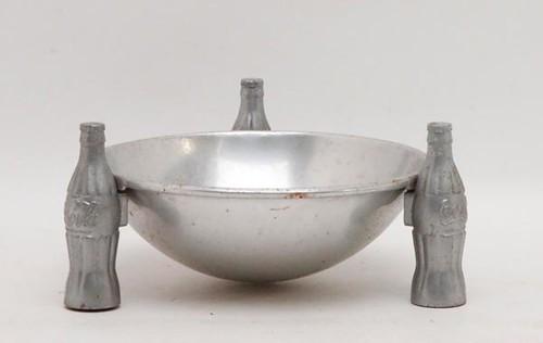 1935 Coca Cola aluminum pretzel bowl ($72.80)