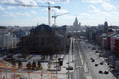 Политех (Kirill & K) Tags: город москва крыши политех лубянка март солнечно