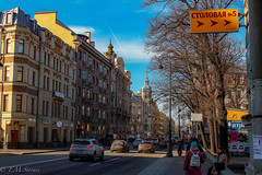 Каменноостровский проспект, St. Petersburg, Russia (TMStorari) Tags: каменноостровский проспект russia petersburg saintpetersburg pietroburgo sanpietroburgo street town people cars architecture architettura buildings signs sky cielo alberi viale avenue europe eastern urban city cities urbanscape cityscapes visit explore