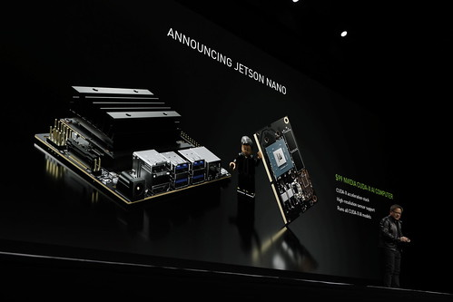 NVIDIA CEO Jensen Huang debuts the Jetson Nano
