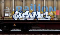 Graffiti on Freights (wojofoto) Tags: graffiti amsterdam streetart nederland netherland holland cargotrain vrachttrein freighttraingraffiti freighttrain fr8 freights wojofoto wolfgangjosten wrong