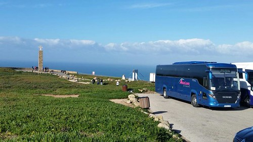 "Autocares Andujar en Cabo da Roca Portugal . Ecija alquilar autobus (3) • <a style=""font-size:0.8em;"" href=""http://www.flickr.com/photos/153031128@N06/33557854318/"" target=""_blank"">View on Flickr</a>"