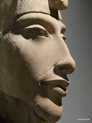 Akhenaten (Amenhotep IV), Luxor Museum (3).JPG (tobeytravels) Tags: thebes egypt amonispleased aten usefulforaten newkingdom sandstone eastkarnak