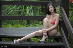 賈瞳瞳 (玩家) Tags: 2019 台灣 台北 水博館 人像 外拍 正妹 模特兒 泳裝 比基尼 賈瞳瞳 戶外 定焦 無後製 無修圖 taiwan taipei portrait glamour model girl female bikini outdoor d610 85mm prime