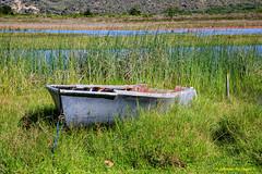 So near, yet so far...... (Johann (Still Me!)) Tags: boat boot lagoon oldstuff makemesmile johanndejager ef24105mmf4lisiiusm canoneos5dmarkiv abandoned weathered simplysuperb derelict