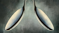 Mirror mirror... (Yves Gauvreau) Tags: macro abstract abstrait creative