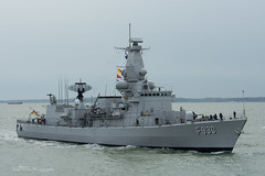 BNS Leopold I (F930) (mattmckie98) Tags: belgium belgian navy ship southsea portsmouth vessel frigate military nikon hmnb