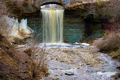 Green Bay Wisconsin waterfall (kirsten.eide) Tags: spring wisconsin greenbay water d3300 nikon waterfall