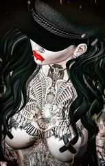 Her Alone (marduklust resident) Tags: sl avatar second life dae fangs marduklust iconic wasabi wasabipills uber dappa tmd mans depts swallow