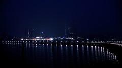 Travemünde bei Nacht und Nebel (dl1ydn) Tags: mole travemünde night zeiss planar 50mmf14