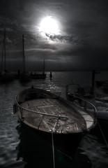 Pirate Bay (Luca Enrico Photography) Tags: pirati bay baia landscape seascape lazise lagodigarda drammatic nikond750 barca boat