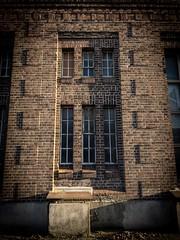 Brick wall (camecasius) Tags: building industrial industry glass window wall bricks brick