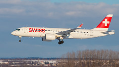 swiss (keriarpi) Tags: hbjcg airbus a220300 swiss bombardier cseries cs300 a220 lhbp bud ferihegy spotter spotting spotterdomb domb jet airplane aircraft plane airline airlines cockpit sky livery grass tree forest