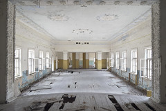 Zalissya Culture House (Sean M Richardson) Tags: abandoned chernobyl exclusion zone nuclear disaster history zalissya village canon photography explore travel decay texture color symmetry architecture