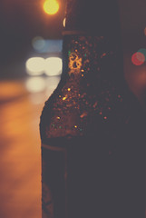 Bottled Troubles (Callums art) Tags: bottle bottles glass night nightphoto nightphotography nightphotographer digbeth urban street birmingham brum england uk unitedkingdom city citylife citylights bokeh bokehful