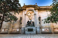 Barcelone-154 (bonacherajf) Tags: barcelona barcelone catalogne catalunya espagne spagna monument statue quartiergothique