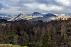 Langdale Pikes (l4ts) Tags: landscape cumbria lakedistrict tarnhows langdalepikes snow winter