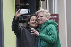 Selfie time (Frank Fullard) Tags: frankfullard fullard candid street portrait happycouple selfie happy smile smiling couple colour color dingle kerry tourist irish ireland photographer face expression