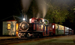 Nightglow (chrisjc90) Tags: ffestiniog train wales snowdonia heritage ffwhr